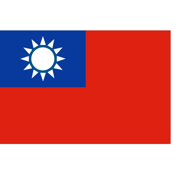 Flag Of Taiwan PNG Clip art