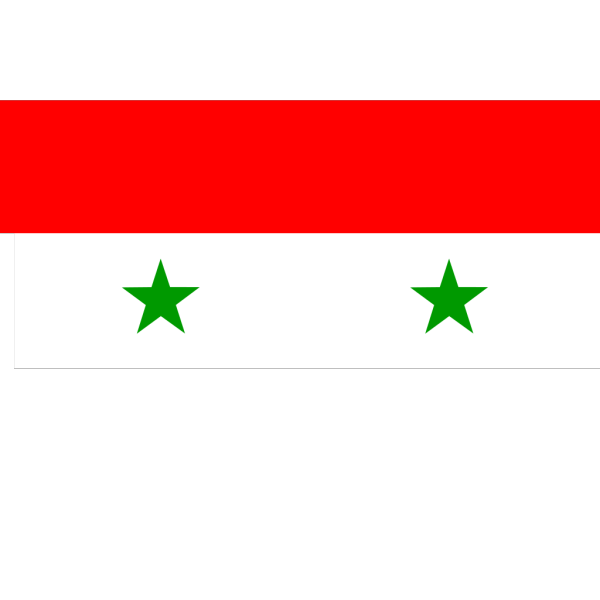 Flag Of The Syrian Arab Republic PNG Clip art