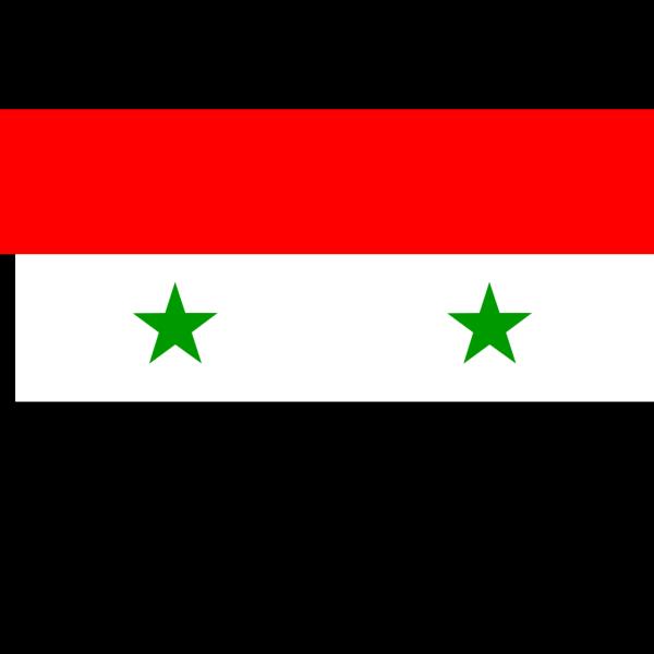 Flag Of The Syrian Arab Republic PNG Clip art