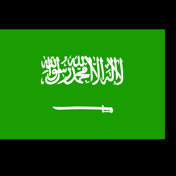 Flag Of Saudi Arabia PNG Clip art