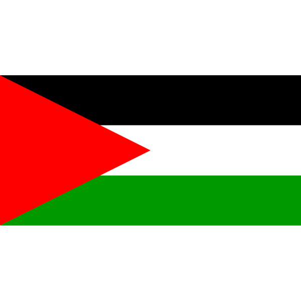 Flag Of Palestine PNG Clip art