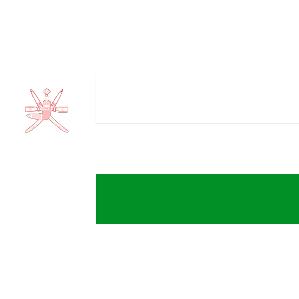 Flag Of Oman PNG Clip art