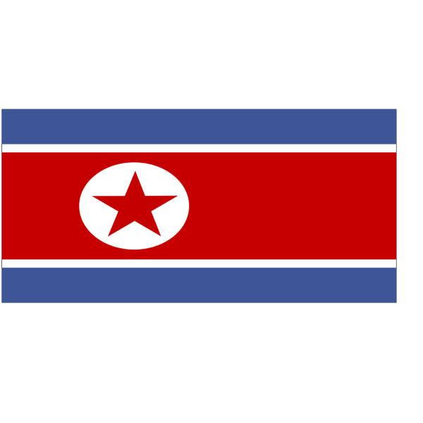 Flag Of North Korea PNG Clip art