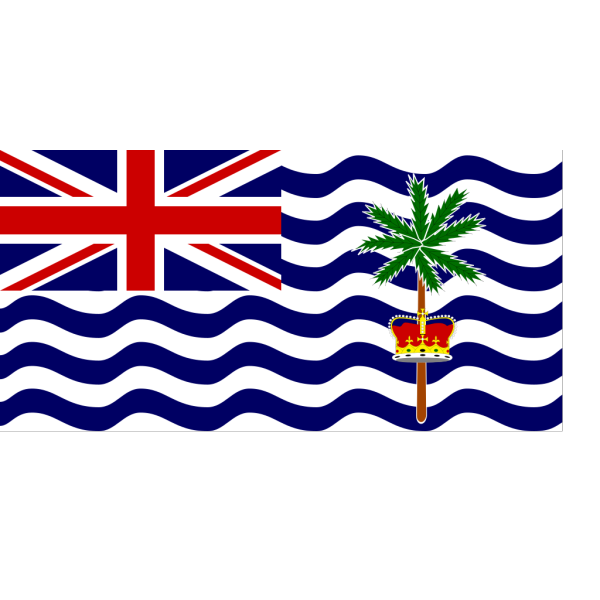 Flag Of The British Indian Ocean Territory PNG Clip art