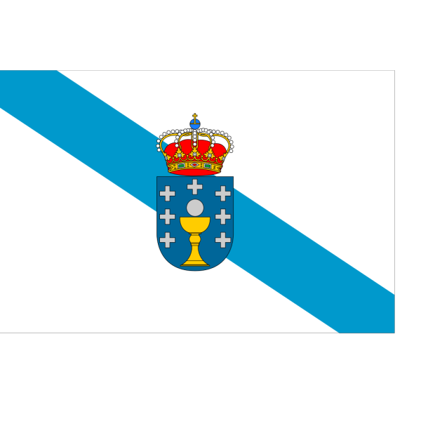 Flag Of Galicia PNG Clip art