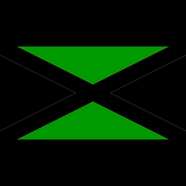 Flag Of Jamaica PNG Clip art
