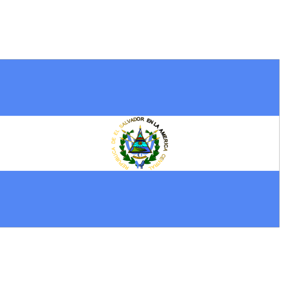 Flag Of El Salvador PNG Clip art