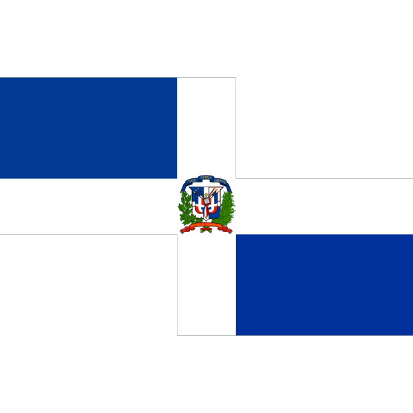 Flag Of The Dominican Republic PNG Clip art