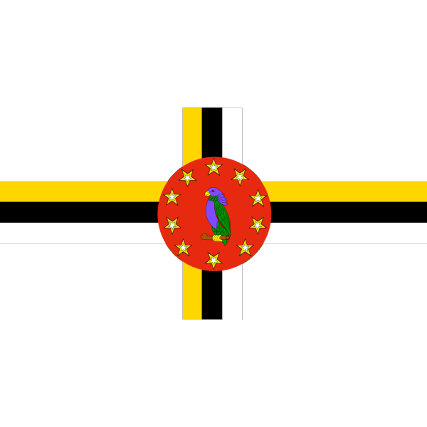 Flag Of The Commonwealth Of Dominica PNG Clip art