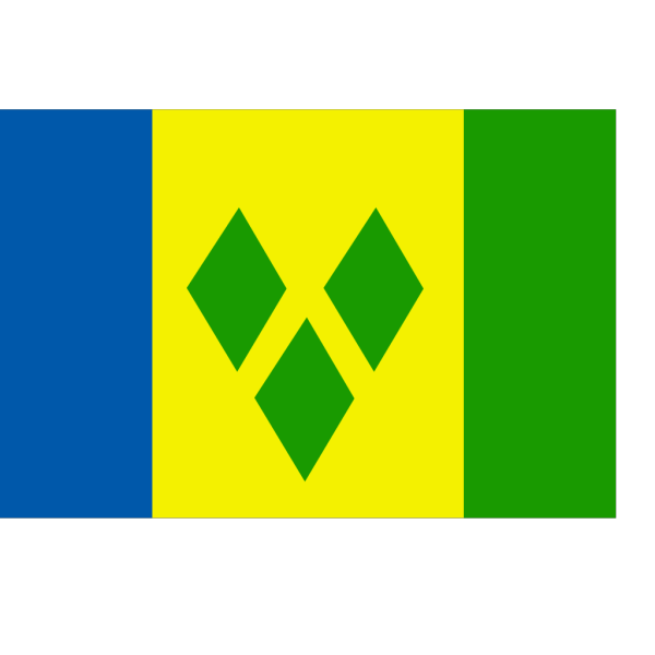 Flag Of Saint Vincent And The Grenadines PNG Clip art