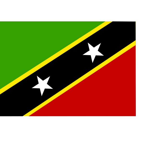 Flag Of Saint Kitts And Nevis PNG Clip art