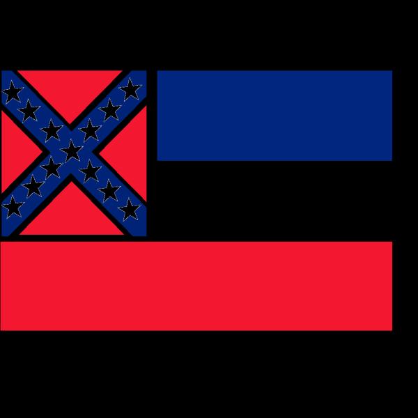 Flag Of Mississippi PNG Clip art