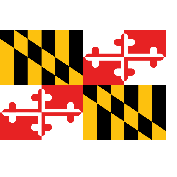 Flag Of Maryland PNG Clip art