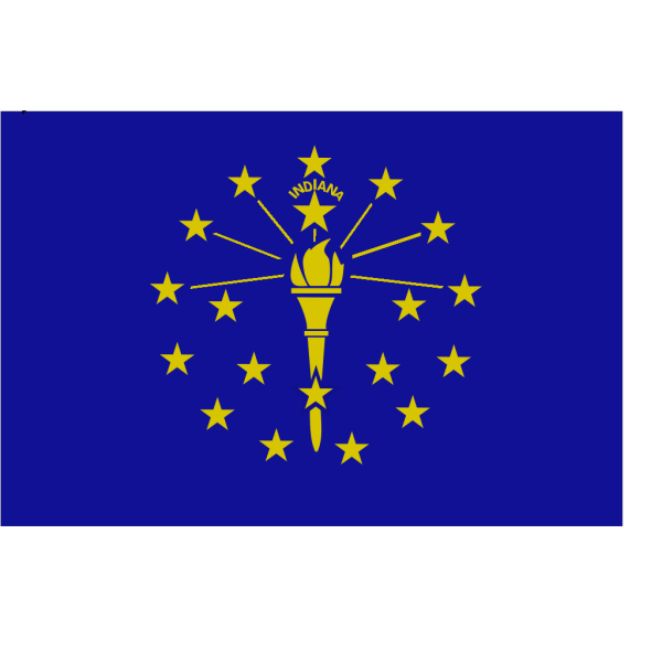 Flag Of Indiana PNG Clip art