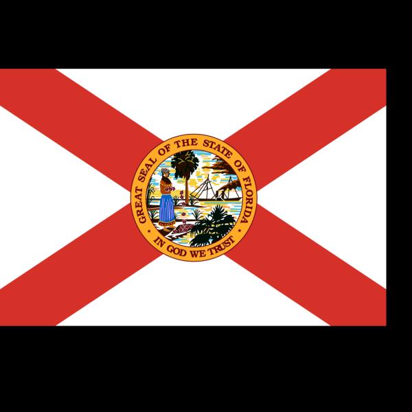 Flag Of Florida PNG Clip art