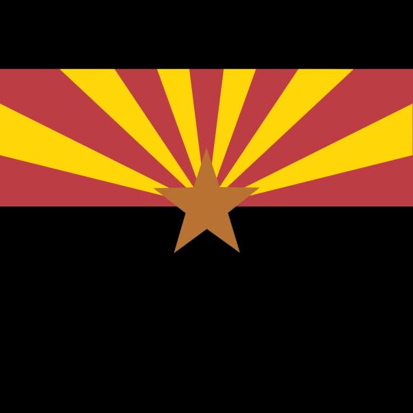 Flag Of Arizona PNG Clip art