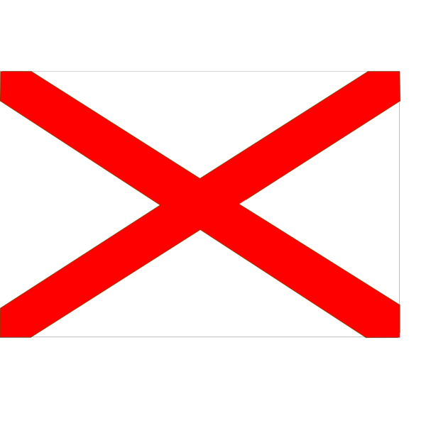 Flag Of Alabama PNG Clip art