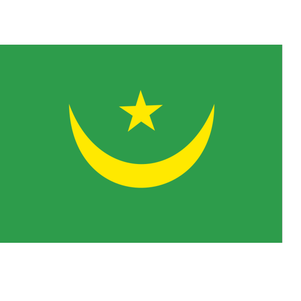 Flag Of The Islamic Republic Of Mauritania PNG Clip art