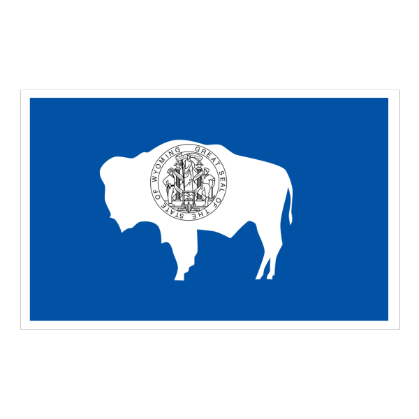 Flag Of Wyoming PNG Clip art
