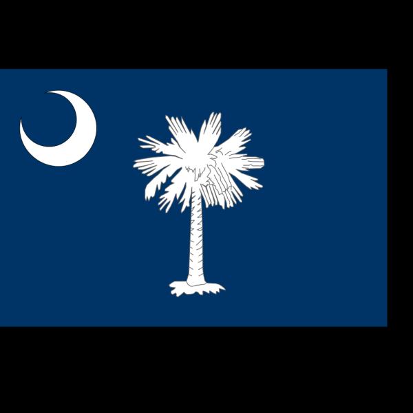 Flag Of South Carolina PNG Clip art