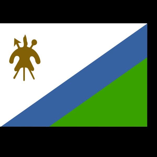 Former Flag Of Lesotho PNG images