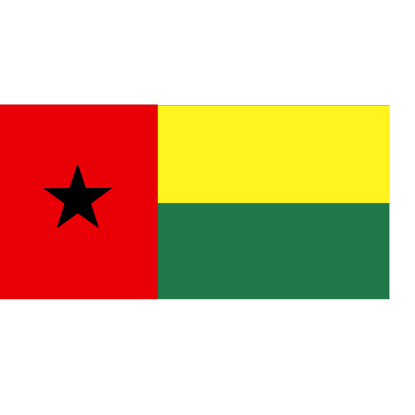Flag Of The Republic Of Guinea Bissau PNG Clip art