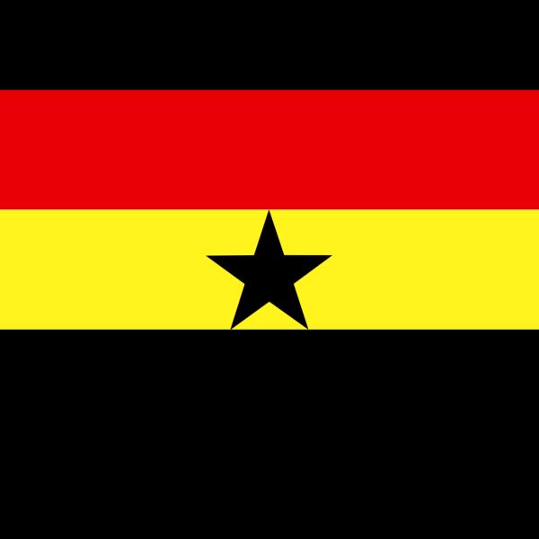 Flag Of Ghana PNG Clip art