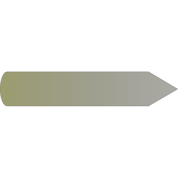 Yellow Right Arrow PNG Clip art