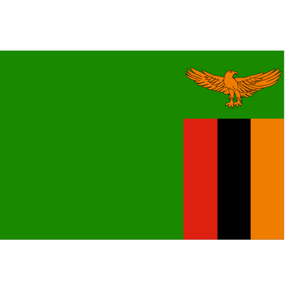 Flag Of The Republic Of Zambia PNG Clip art