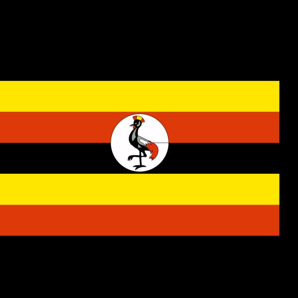 Flag Of The Republic Of Uganda PNG Clip art