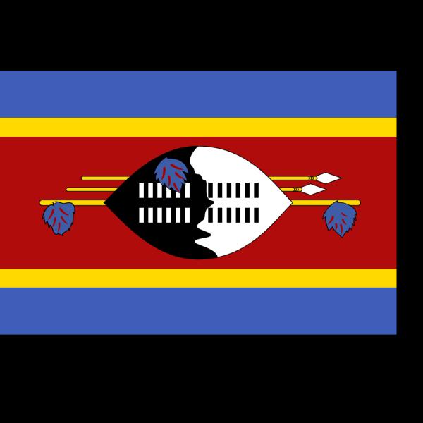 Flag Of Swaziland PNG Clip art