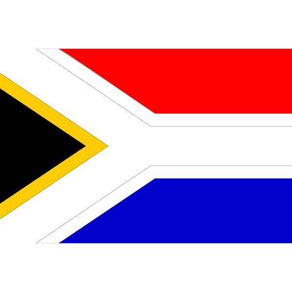 Flag Of South Africa PNG Clip art