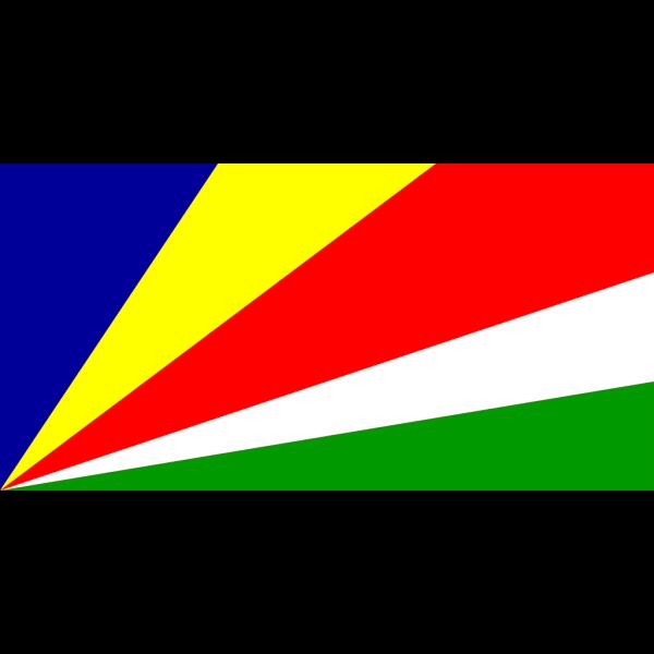 Flag Of Seychelles PNG Clip art