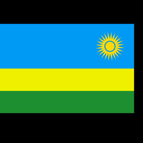 Flag Of Rwanda PNG clipart