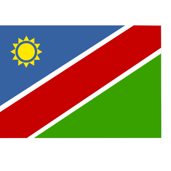 Flag Of Namibia PNG Clip art