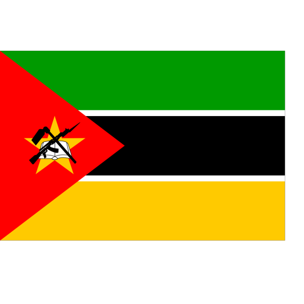 Flag Of Mozambique PNG Clip art