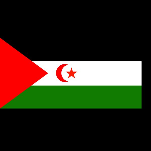 Flag Of Western Sahara PNG Clip art