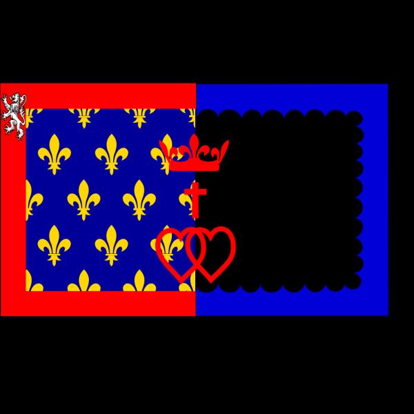 Flag Of Pays De La Loire PNG Clip art
