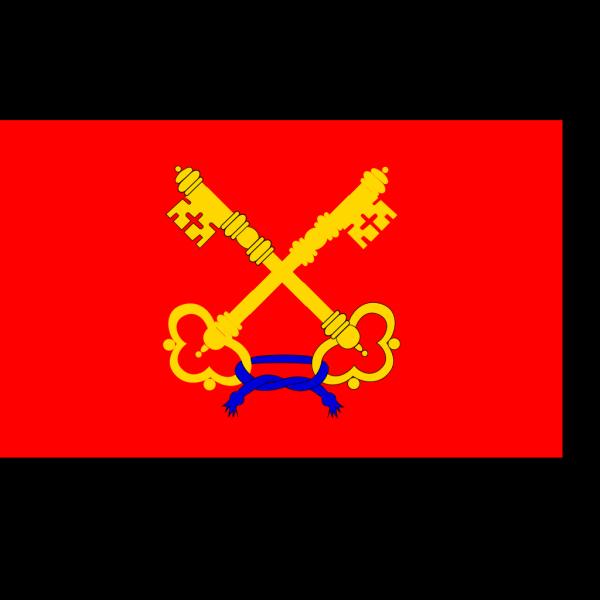 Flag Of Comtat Venaissin PNG Clip art