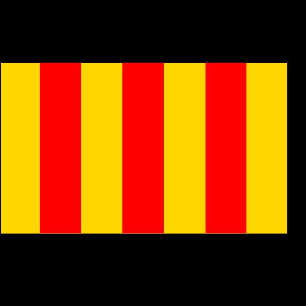 Flag Of Comte De Foix PNG Clip art