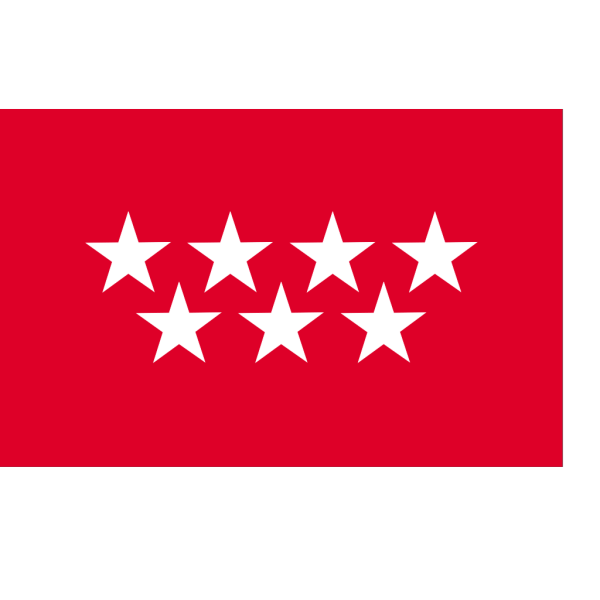 Flag Of The Community Of Madrid PNG Clip art