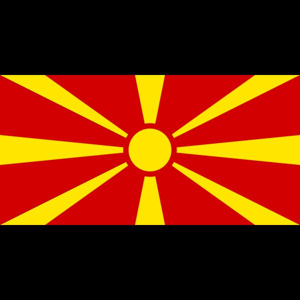 Flag Of Republic Of Macedonia PNG Clip art