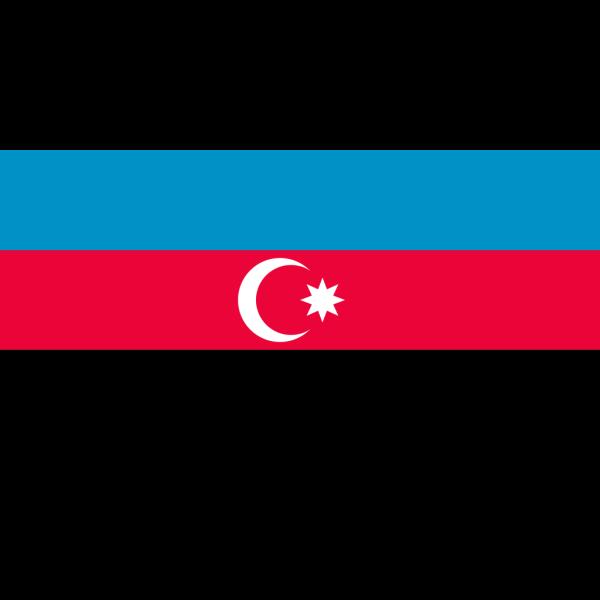 Flag Of The Republic Of Azerbaijan PNG Clip art