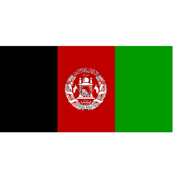 Flag Of Afghanistan PNG Clip art
