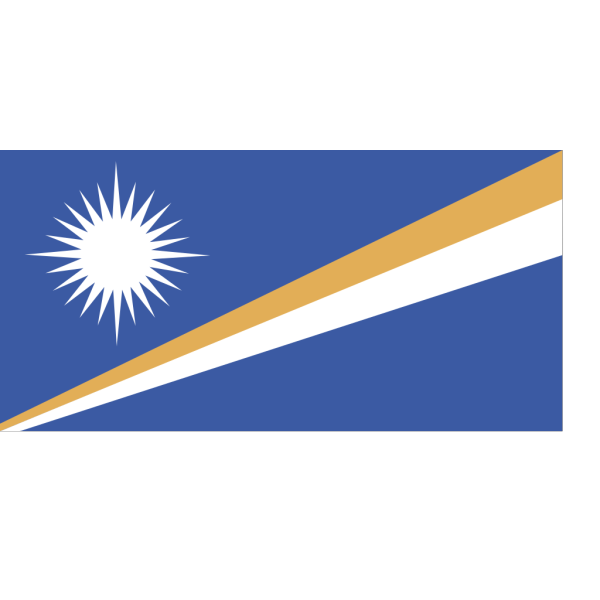 Flag Of The Republic Of The Marshall Islands PNG Clip art