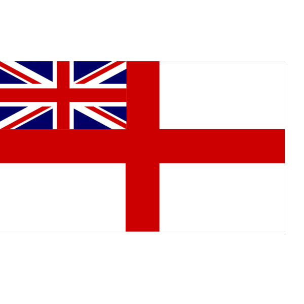 Flag Of The English Royal Navy PNG Clip art