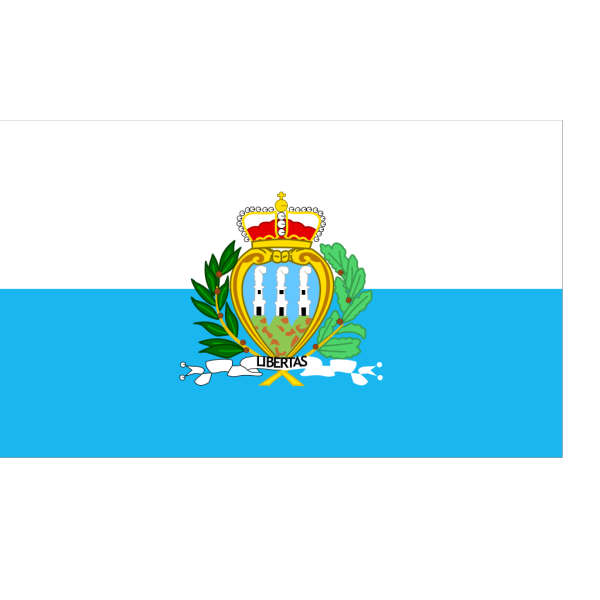Flag Of The Republic Of San Marino PNG Clip art