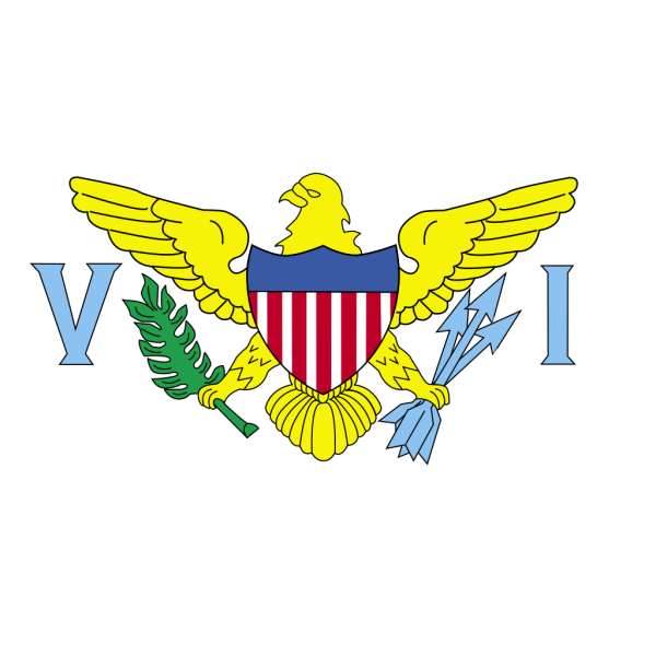 Flag Of Us Virgin Islands PNG Clip art
