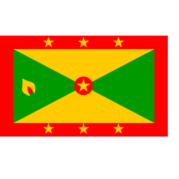 Flag Of Grenada PNG Clip art