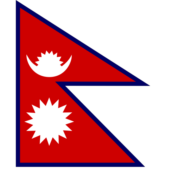 Flag Of Nepal PNG Clip art